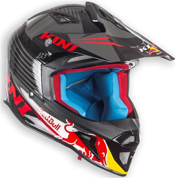 KINI Red Bull Competition Helm Black
