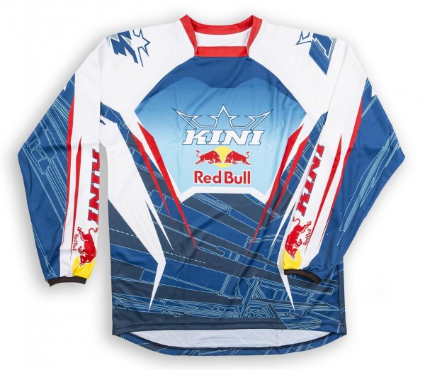 KINI Red Bull Competition Shirt Navy White Vented