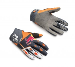 KINI Red Bull Competition Gloves V2.1 - Orange/White/Anthrazite