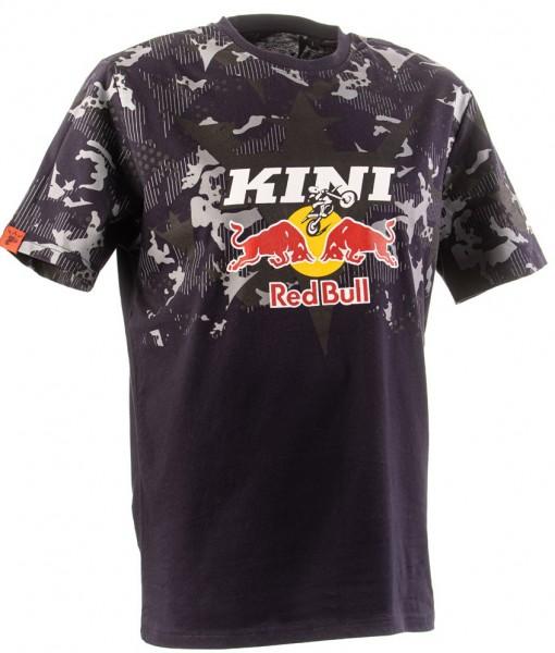 KINI Red Bull Urban Camo Tee - Night Sky