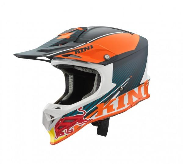 KINI Red Bull Helmet Shield Orange/White/Grey