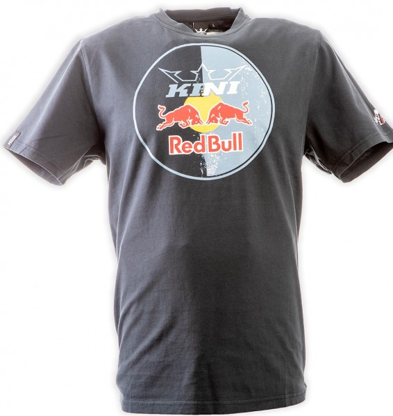 KINI Red Bull Circle Tee Anthrazit