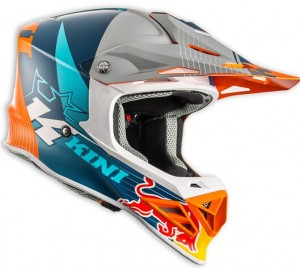 KINI Red Bull Competition Helm Orange/White/Navy