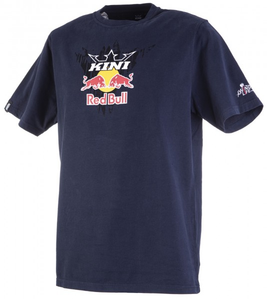Kini Red Bull Corrugated Tee Night Sky
