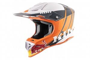 KINI Red Bull Competition Helmet V2.1 - Orange/White/Anthrazite