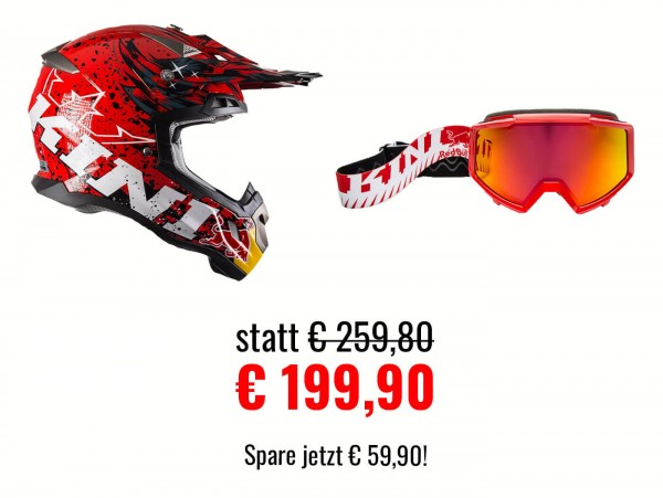 Kini Red Bull Revolution Helm Set 1
