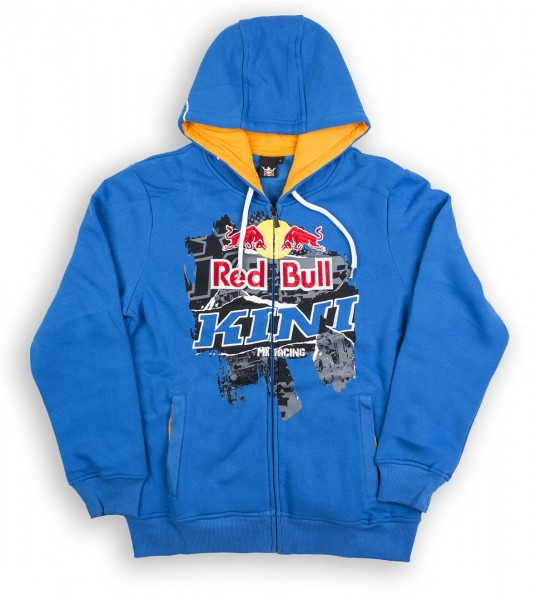 KINI-RB Collage Hoodie Blue