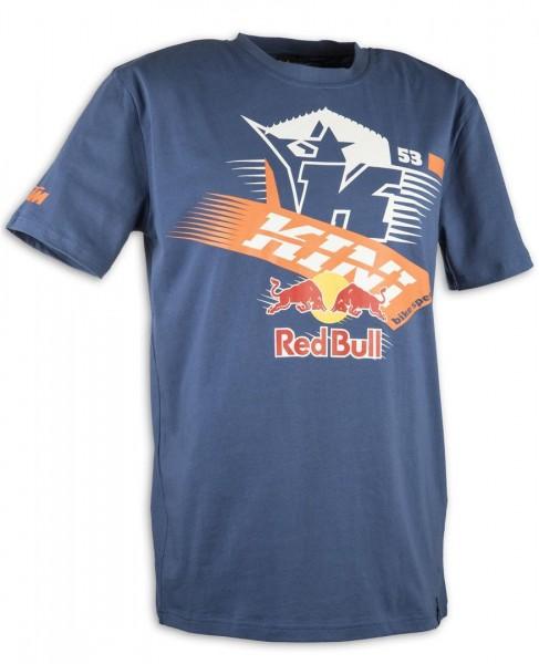 KINI Red Bull Athletic Tee Blue Gr L