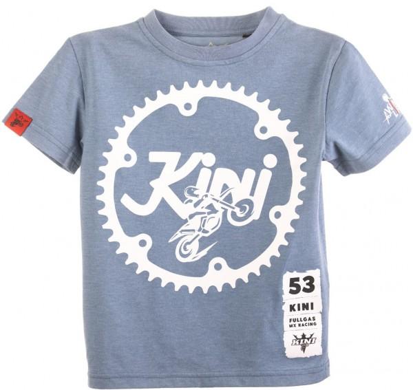 KINI Red Bull Kids Ritzel Tee - Heather Blue