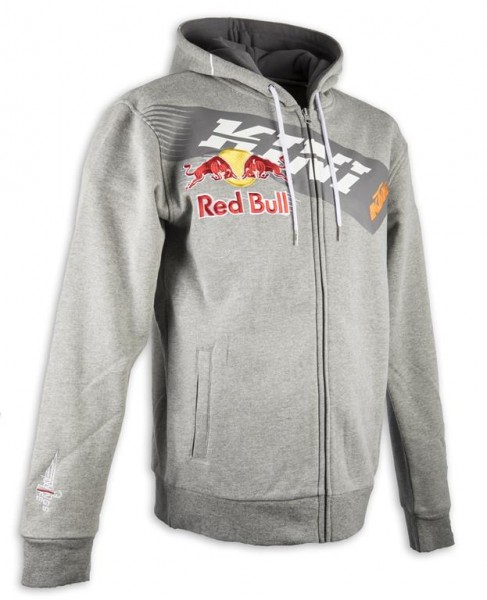 KINI Red Bull Athletic Hoodie Grey