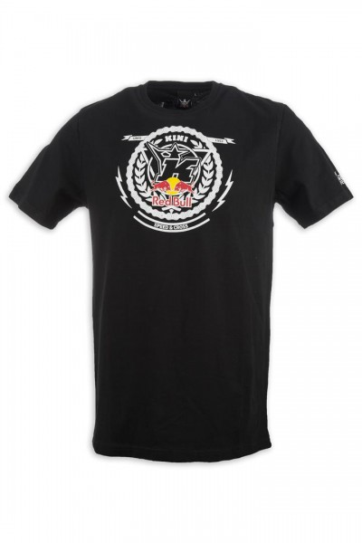 KINI Red Bull Crest Tee Black
