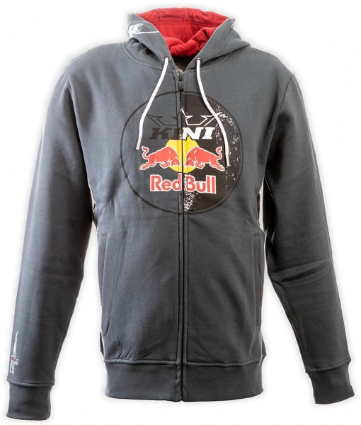 KINI Red Bull Circle Hoodie Dark Grey