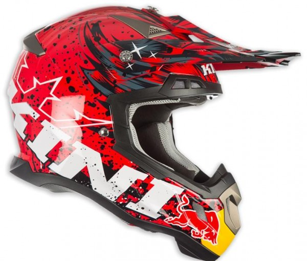 KINI Red Bull Revolution Helm