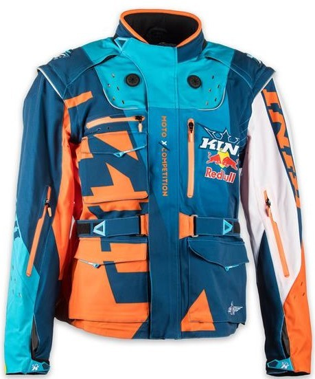 KINI Red Bull Competition Jacket Orange/White/Navy
