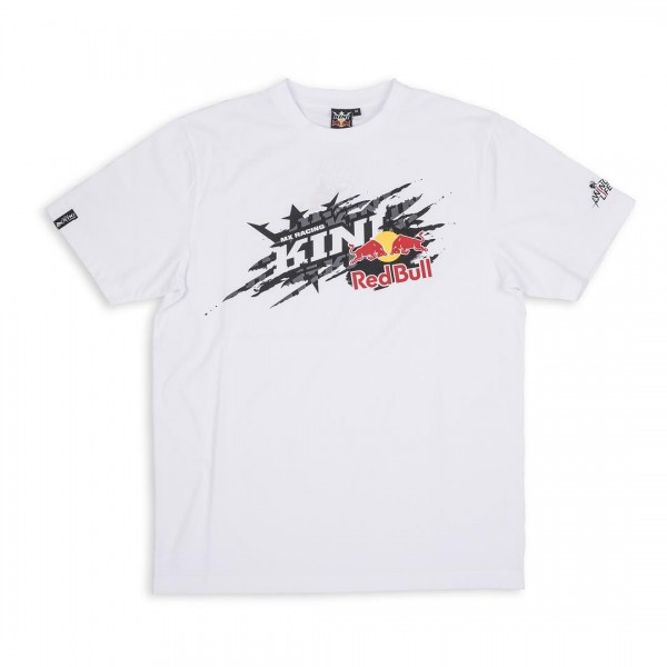 KINI-RB Ripped Stickers Tee White