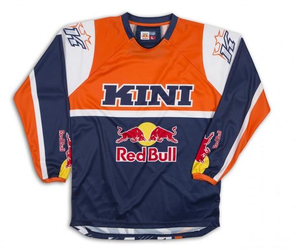 KINI-RB Vintage Shirt Blue/Orange
