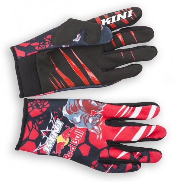 KINI Red Bull Revolution Gloves Red/Black