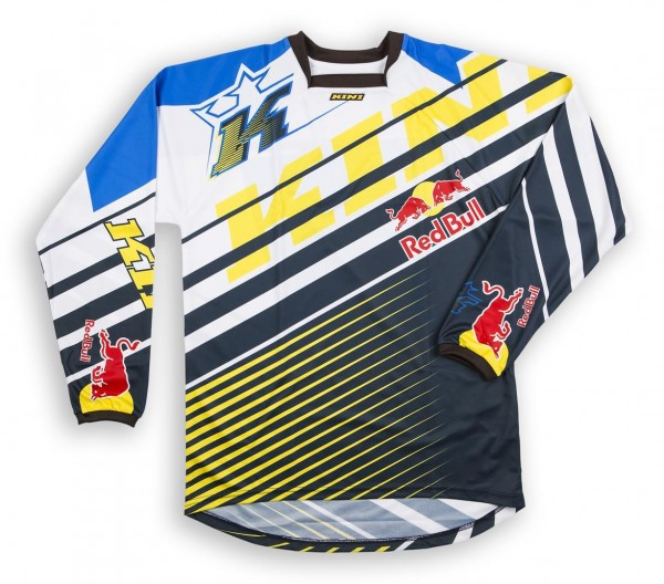 KINI Red Bull Vintage Shirt Yellow/Blue Vented