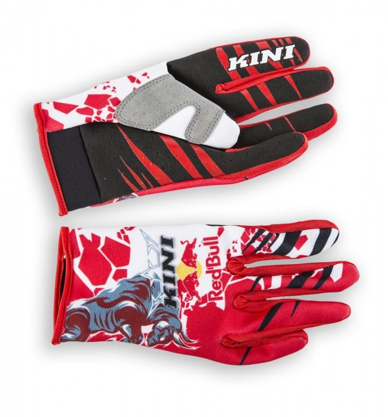 KINI Red Bull Revolution Gloves Red/White