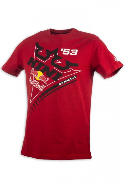 KINI Red Bull Ribbon Tee Red