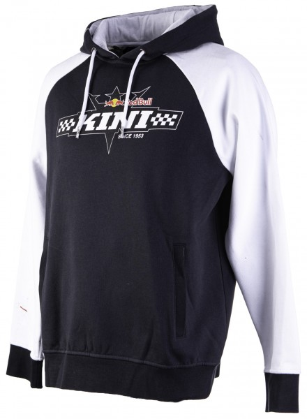 Kini Red Bull Finish Flag Hoodie White/Anthrazit