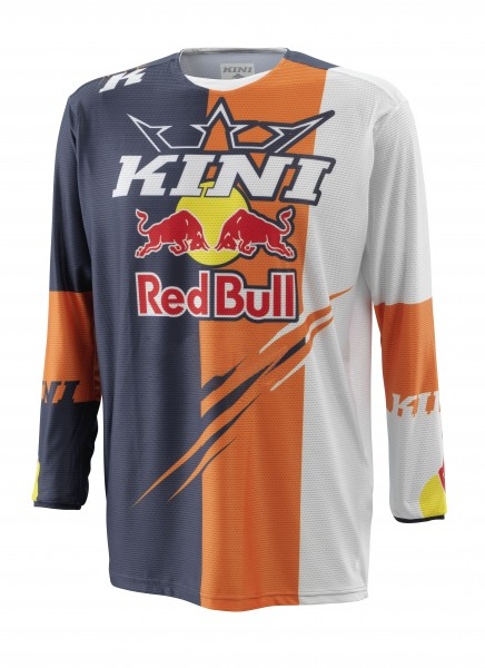 KINI Red Bull Competition Jersey V2.1 - Orange/White/Anthrazite