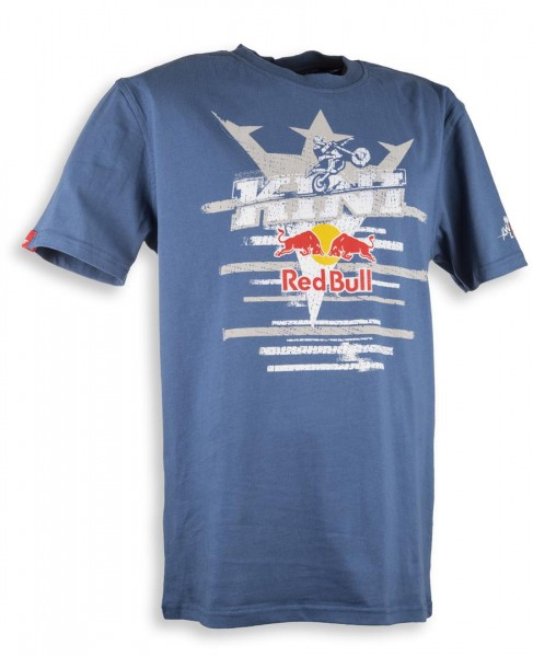 KINI Red Bull Steps Tee Blue Größe Large