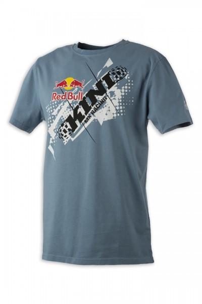 KINI Red Bull Chopped Tee Blue