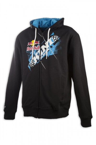 KINI Red Bull Chopped Hoodie Black/Blue
