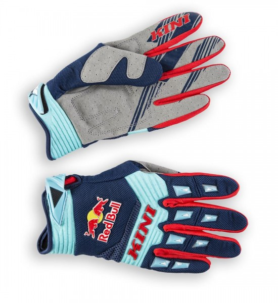 KINI Red Bull Competition Gloves Navy White