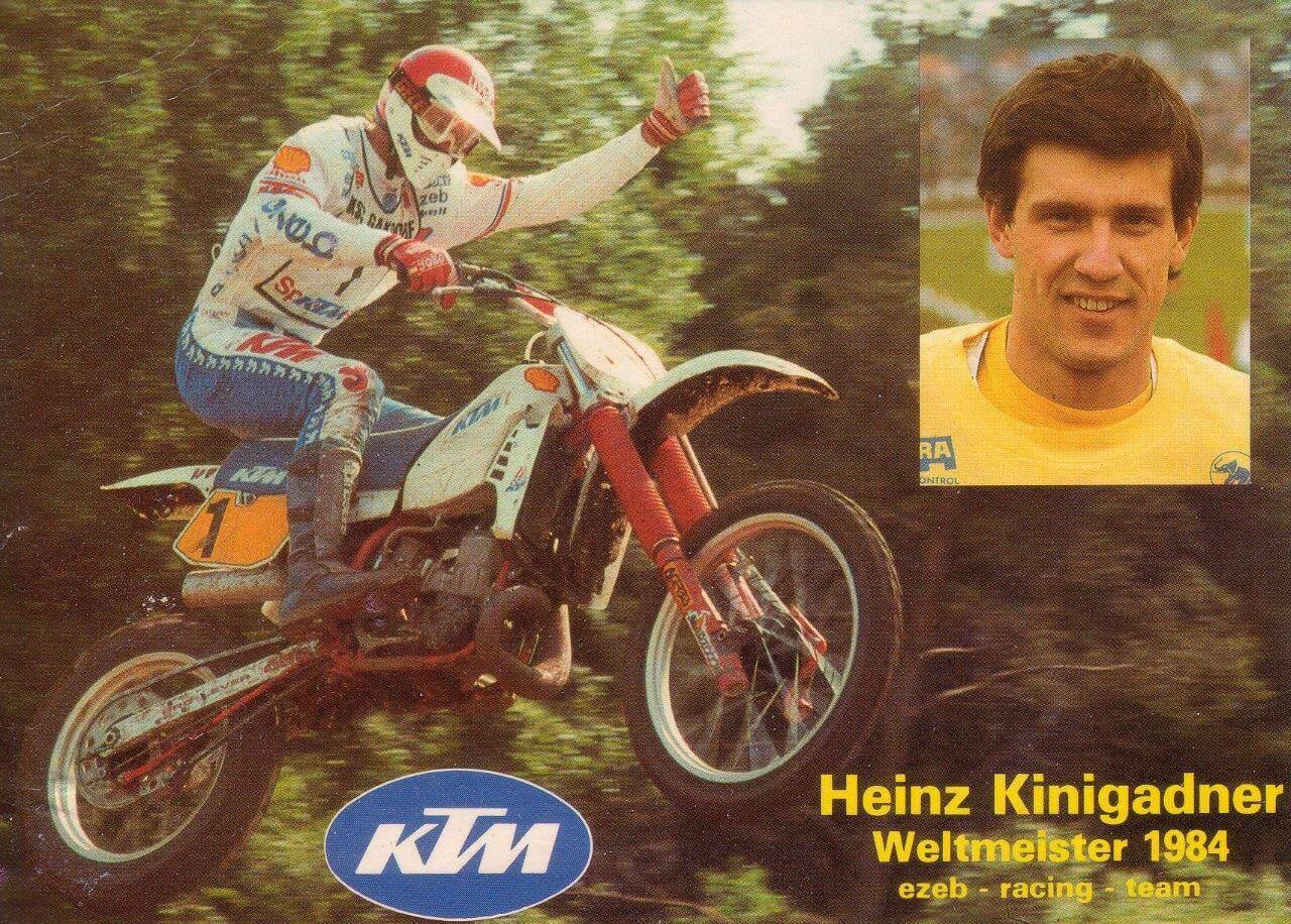 Heinz Kinigadner Kini und KTM Geschichte