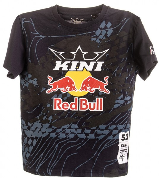 KINI Red Bull Kids Topography Tee - Night Sky