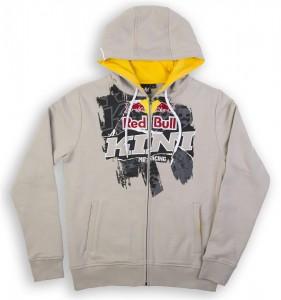 KINI-RB Collage Hoodie Grey