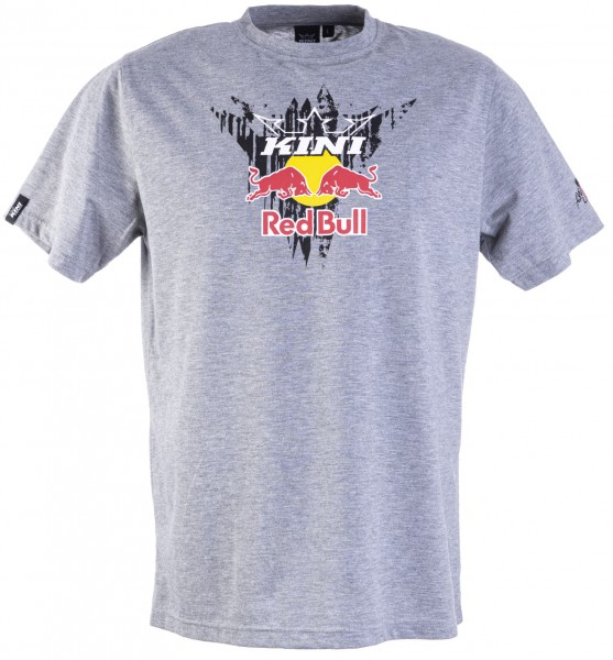 Kini Red Bull Corrugated Tee Grey