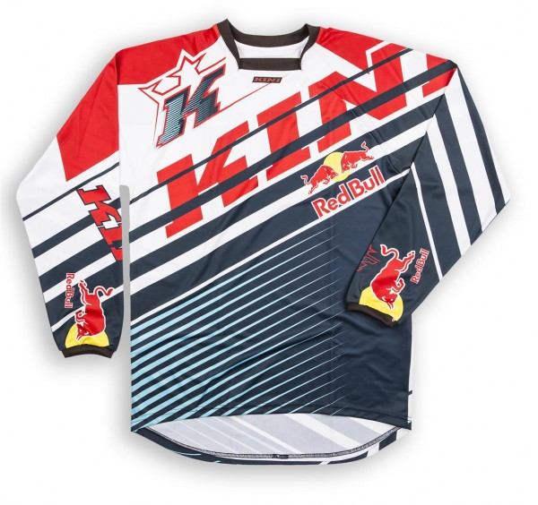 KINI Red Bull Vintage Shirt Red/Blue Vented