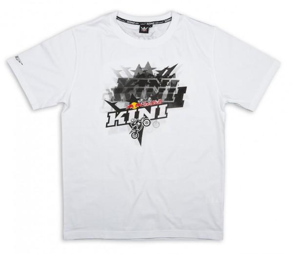 KINI-RB Crashed Tee White