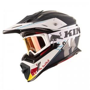 KINI Red Bull Division Helm Set White
