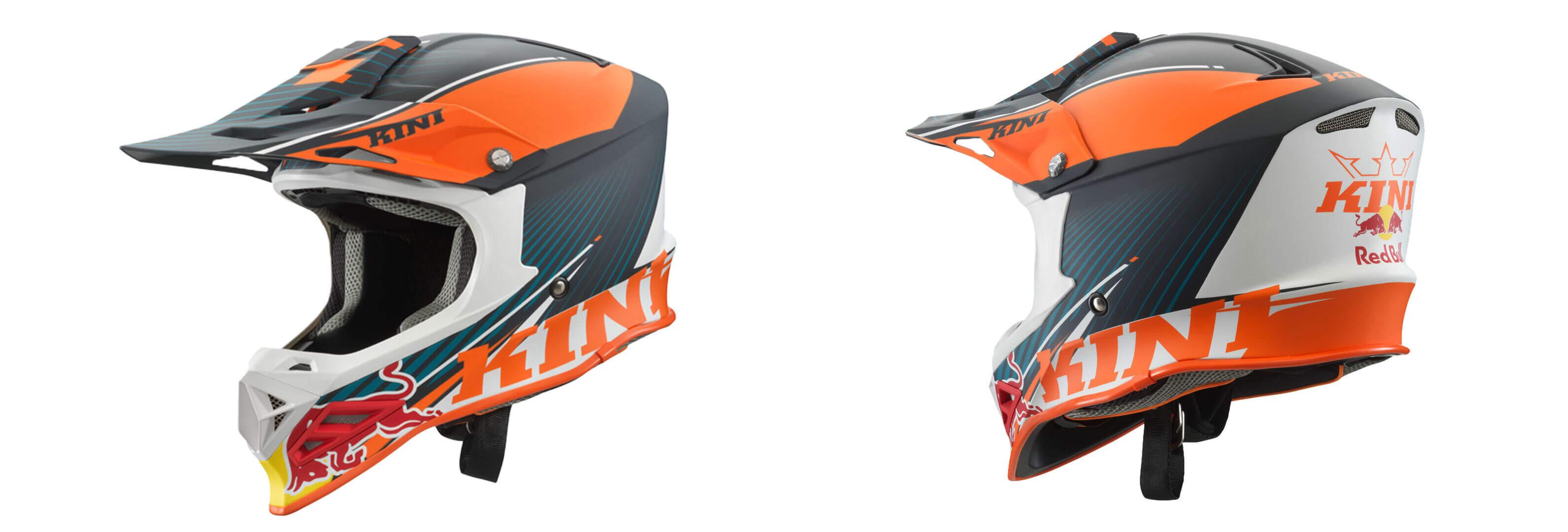 Motocross Helm, Enduro Helm, Crosshelm von Kini Red bull 2020