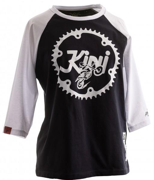 KINI Red Bull Girls Ritzel Longsleeve - Night Sky/White