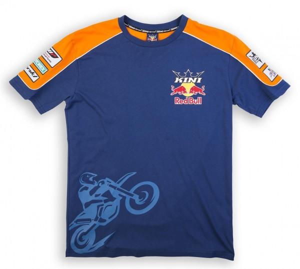 KINI-RB Team Tee Orange/Navy