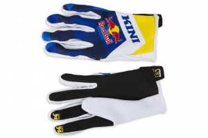 KINI Red Bull Vintage Gloves Navy/Yellow